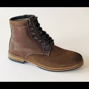 CREVO HORCHATA BROWN LEATHER BOOT SIZE 9